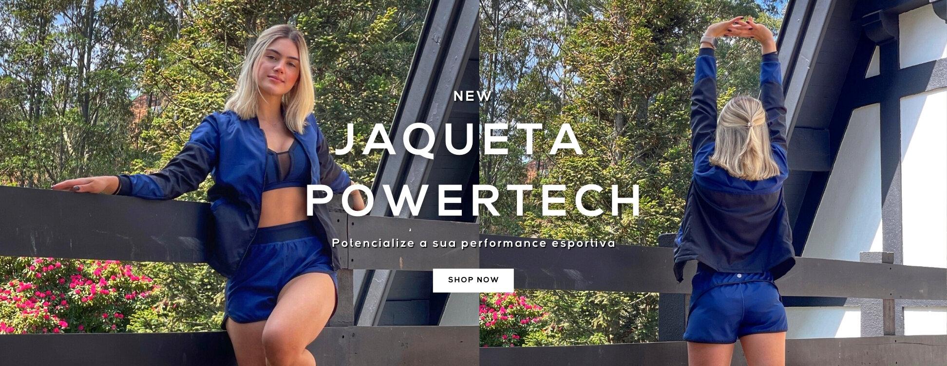 Jaqueta Powertech